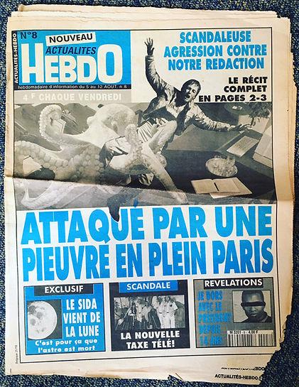 actualités nouveau hebdo n°8 1995
