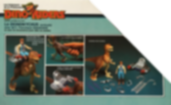 dino riders serie 1 ideal france deinonychus