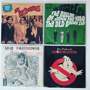 vinyl les inconnus une parisienne ghostbusters ray parker jr.