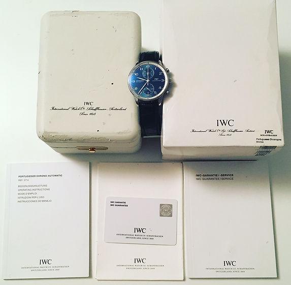 IWC Portuguese Portugieser Laureus limited edition
