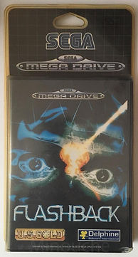 sega megadrive flashback blister rigide neuf new sealed