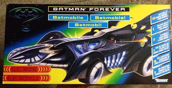 Batman Forever - Batmobile Kenner 1995 neuve sealed