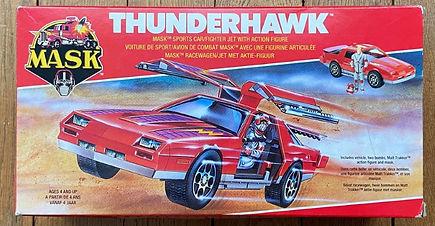 MASK M.A.S.K. Kenner france Thunderhawk Matt Tracker