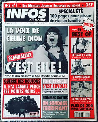 infos du monde hors-série n°1 1998