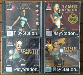 Tomb Raider sealed blister PS1 brand new