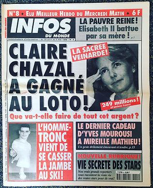 infos du monde 1998 n°8