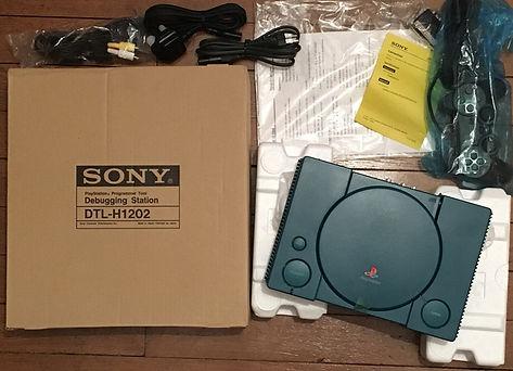 PS1 playstation sony DTL-H1202 brand new sealed neuve