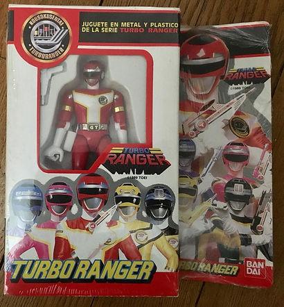 Turboranger bandai Die Cast Force Rouge brand new SPAIN