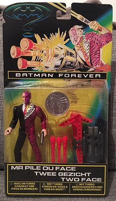 Double Face M Pile ou Face FR Batman Forever