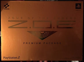 ZOE zone of the enders premium package konami limited ps2 playstation 2