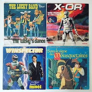 vinyl lucky luke x-or winspector sous le signe des mousquetaires
