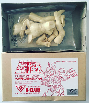 Saint Seiya pegasus b-club cast models goods bandai japan 1987 new