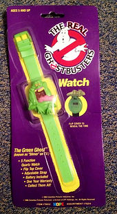 The Rel Ghostbusters Watch slime Sealed