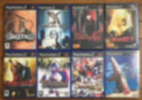 ps2 playstation 2 devil may cry dodonpachi dai ou jou disgaea