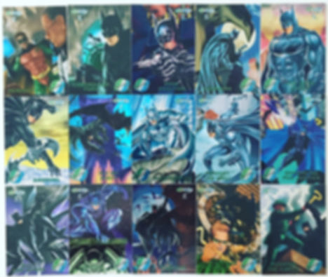Batman Forever Metal cards