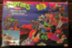 TMNT Tortues Ninja Chopper des Foot playmates 1991 NEUF sealed
