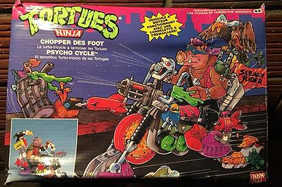 TMNT Tortues Ninja Chopper des Foot playmates 1991 NEUF sealed