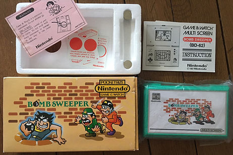 Game & Watch Bomb Sweeper Pocketsize France