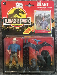 Jurassic Park ALAN GRANT FR