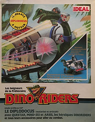 dino riders diplodocus ideal france