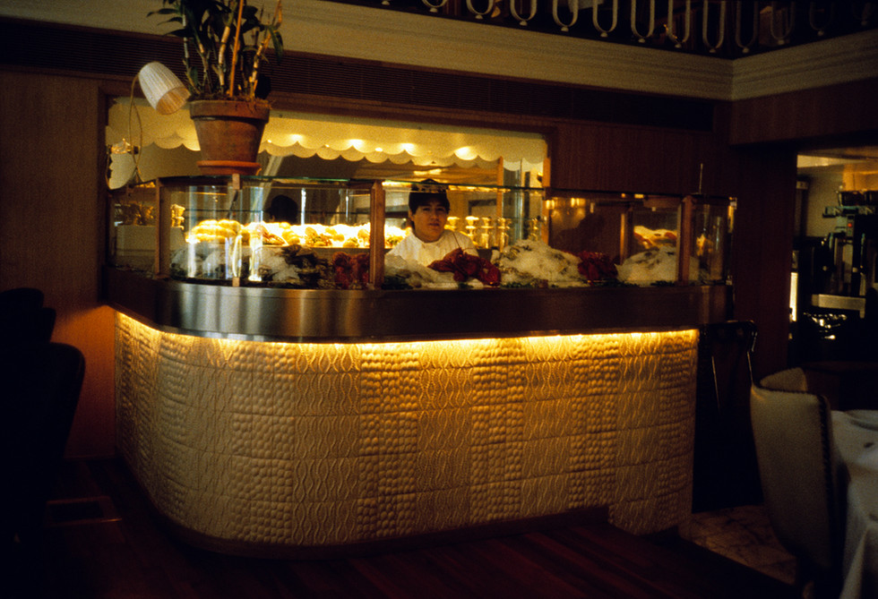 Oyster Bar at Blue Water Grill, 1996.JPG