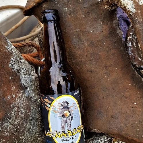 Bière Blonde La Torpille - Brasserie La Narcose
