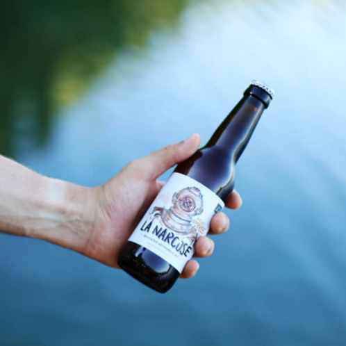 Bière ambrée Koursk - Brasserie La Narcose