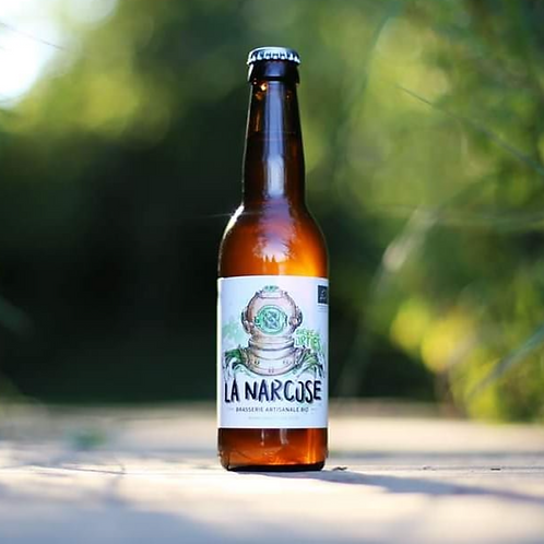Bière Blanche La Corsaire - Brasserie La Narcose