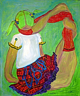Figure with Impractical Pose VIII, 2002-03