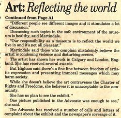 RED DEER ADVOCATE, JAN 11 2003
