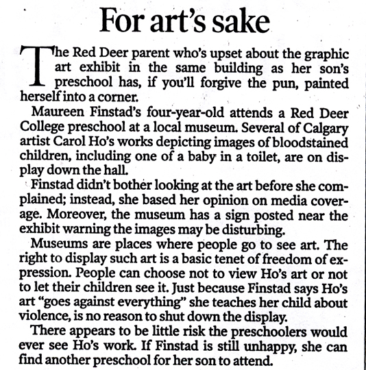 CALGARY HERALD FOR ART'S SAKE, JAN 15.jpg