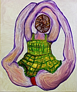 Figure with Impractical Pose VII, 2002-03