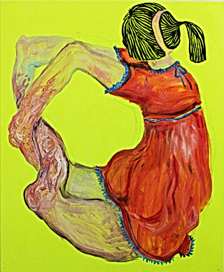 Figure with Impractical Pose VI, 2002-03