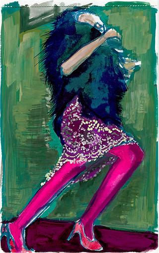 Woman in Fur, 2010