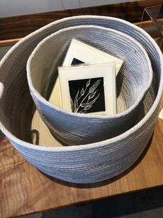 Carolina Eliasson, Coastal Craftwork (Cotton Rope Vessels)