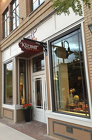The front of the Kizmit Gift Gallery shop on Glover Road in Fort Langley