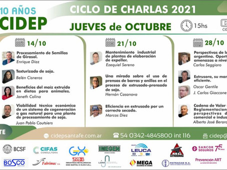 CICLO DE CHARLAS 2021