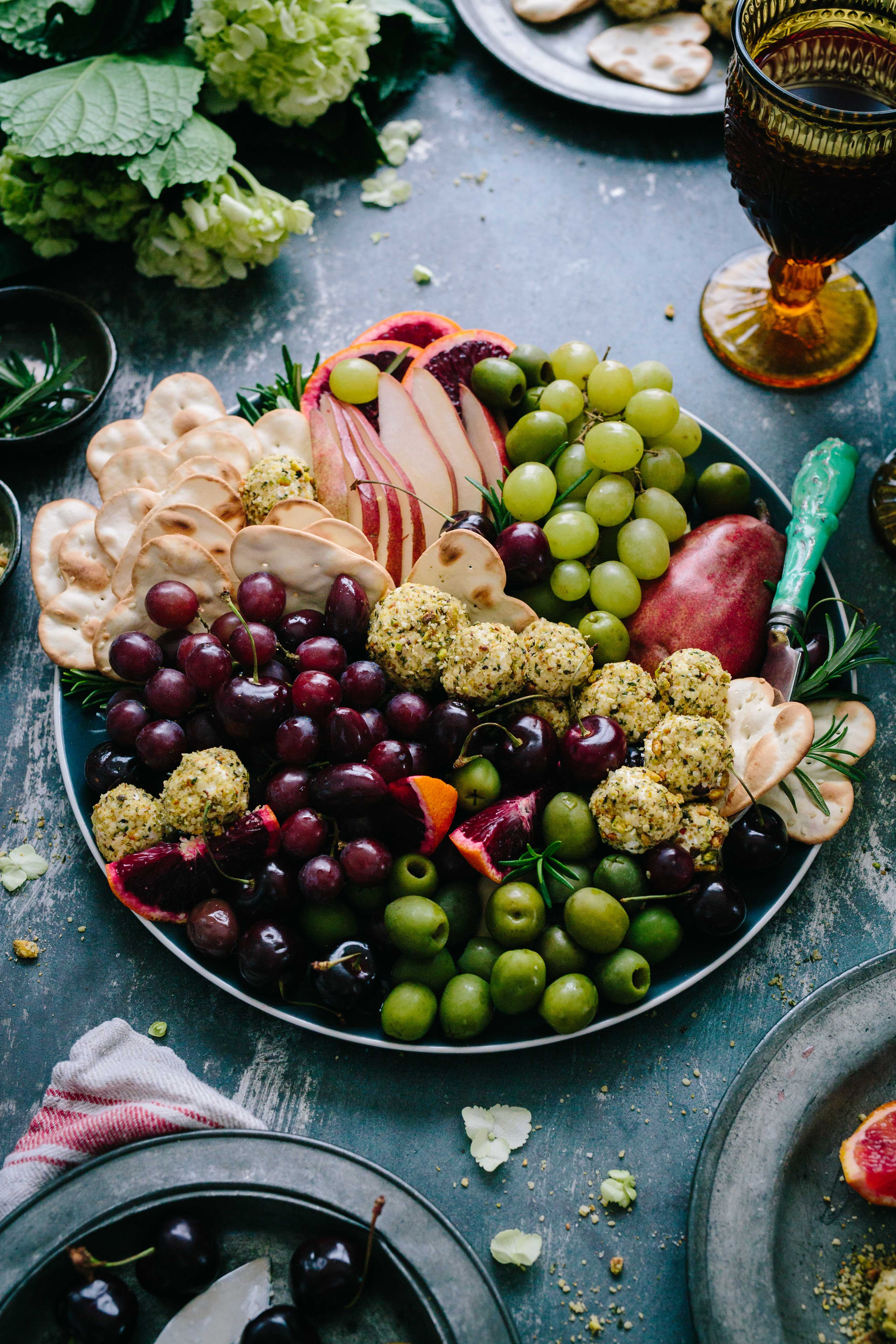 Fruits et fromage Platter