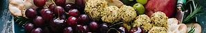 Obst und Käseplatte