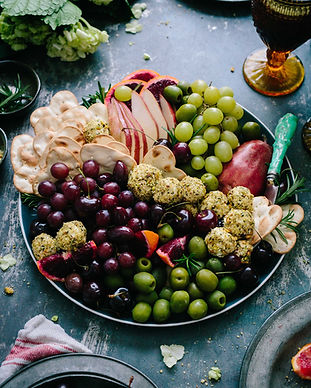 Fruit and Cheese Platter. NutriNourish