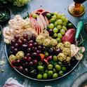 Frukt och ostbricka