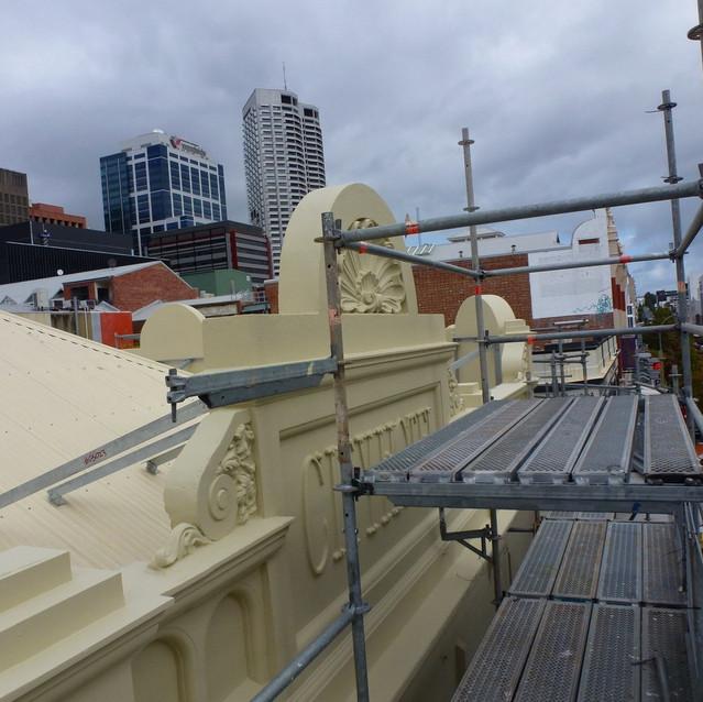 Conspar Heritage Restoration Works, Perth's CBD