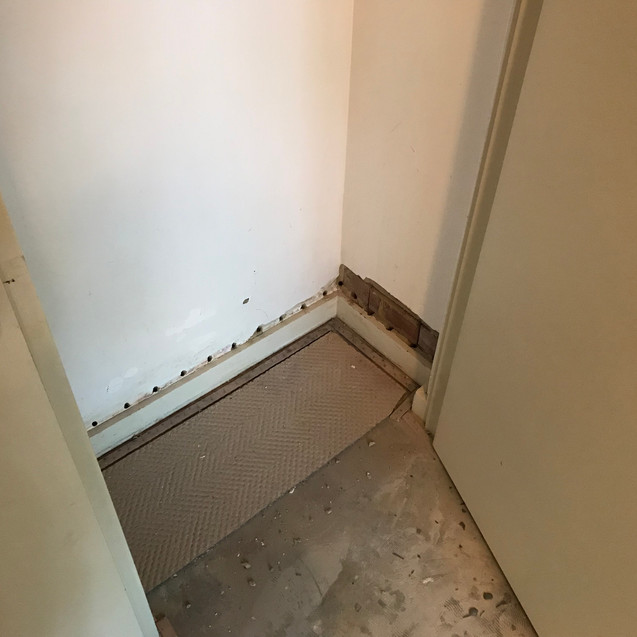 Conspar rising damp treatment at this property in Subiaco.