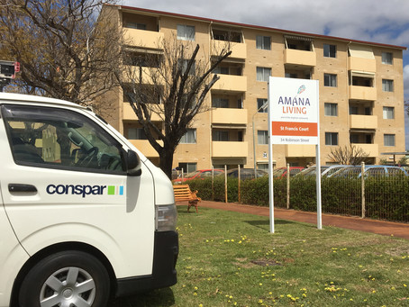 Servicing Perth's aged-care facilities