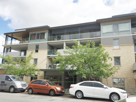 Subiaco office and apartment block maintenance project