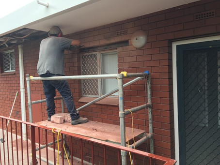 Scarborough unit block gets structural maintenance works