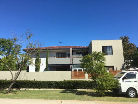 Applecross residential block restoration project