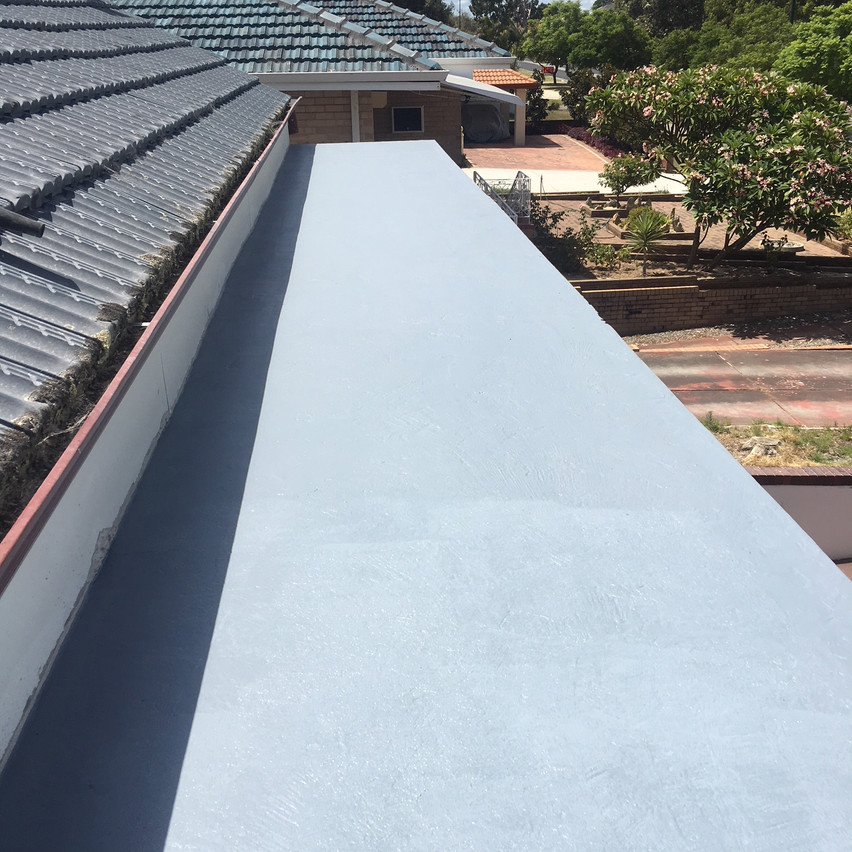 Conspar protective coatings, Melville residential property project (Perth).