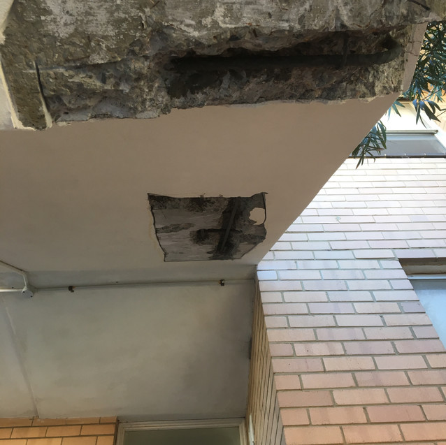 Conspar structural building repairs have begun at a block of residential seaside apartments in Cottesloe. A majority of the works involve treatment of concrete cancer in common access areas such as the balconies and stairways.