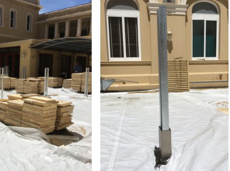 Parliament House waterproofing project